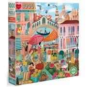 eeBoo - Venice Market Puzzle 1000pce