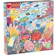 eeBoo - Coral Reef Puzzle 1000pce