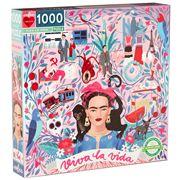 eeBoo - Viva La Vida Puzzle 1000pce
