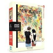 New York Puzzle Co - Paint By Pixels Jigsaw Puzzle 1000pce