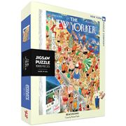 New York Puzzle Co - Beachgoing Jigsaw Puzzle 1000pce