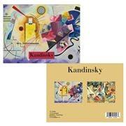 Retrospect -  Kandinsky Blank Cards/Envelopes Set 12pce