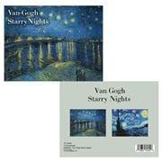 Retrospect -  Van Gogh Starry Nights Card/Envelope Set 12pc