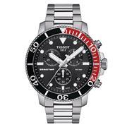Tissot - Seastar 1000 Chronograph Blk Dial Watch 45.5mm
