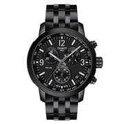 Tissot - PRC 200 Chronograph S/Steel & Black PVD Watch 43mm