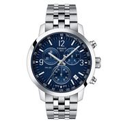 Tissot - PRC 200 Chronograph Blue Dial Watch 43mm
