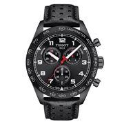 Tissot - PRS 516 Chronograph S/Steel w/Black PVD Watch 45mm