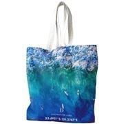 Destination Label - Blue Boards Tote Bag