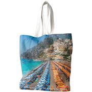 Destination Label - Positano Summer Tote Bag
