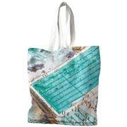 Destination Label - Icebergs Summer Tote Bag