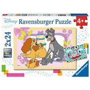 Ravensburger - Disney's Favorite Puppies 2x24pce