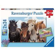 Ravensburger - Horse Friends Puzzle 2x24pce