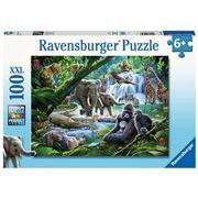 Ravensburger - Jungle Animals Puzzle 100pce