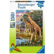 Ravensburger - Giraffes In Africa Puzzle 150pce