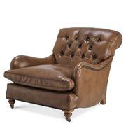 Vandenberg - Club Chair Caledonian Tobacco Leather