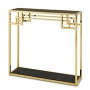 Vandenberg - Console Table Morris Gold Finish