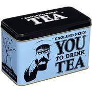 New English Teas - Eng. A/Noon England Needs You Tin 40 Bags