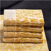 Roberto Cavalli - Linx Guest Towel Gold 40x60cm