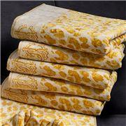 Roberto Cavalli - Snow Leopard Guest Towel Gold 40x60cm