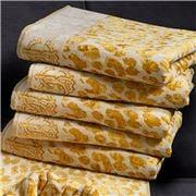 Roberto Cavalli - Snow Leopard Hand Towel Gold 60x110cm