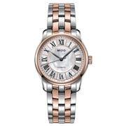 Mido - Belluna Auto. Ladies Steel/Rose Gold PVD Watch 33mm
