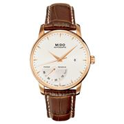 Mido - Baroncelli Auto Gents Steel/Rose Gold Watch 42mm