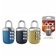 Go Travel - Big Wheel Combination Lock