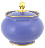 Limoges - Legle Provencal Blue Sugar Bowl