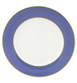 Limoges - Legle Provencal Blue Bread & Butter Plate
