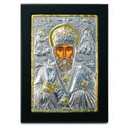 Clarte Icon - St Nicholas Gold 18x23cm