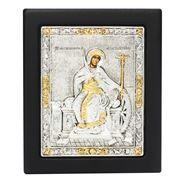 Clarte Icon - St Catherine Gold 12.5x15cm
