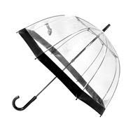 Clifton - Birdcage Umbrella with Black Border