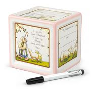 Child To Cherish - Christening Block To Grow Pink Money Box