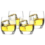 Luigi Bormioli - Parma Double Old Fashioned Set 4pce