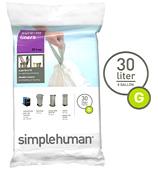 Simplehuman - Sure-Fit Liners Size G 20 x 30L