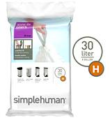 Simplehuman - Sure-Fit Liners Size H 20 x 30L