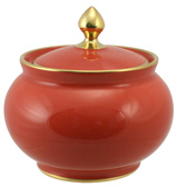 Limoges - Legle Rose Sugar Bowl