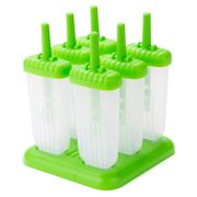 Tovolo - Groovy Pop Icy Pole Mould Set 6pce