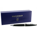 Waterman - Carene Black Sea Ballpen with Silver Trim