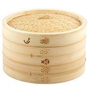 Davis & Waddell - Asia One 2 Tier Bamboo Steamer 26cm