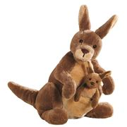 Gund - Jirra Kangaroo with Joey Plush Toy