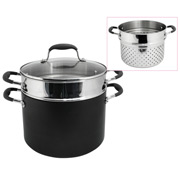 Anolon - Advanced Stockpot 24cm/7.6L w/Bonus Pasta Insert
