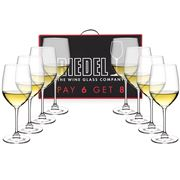 Riedel - Vinum Chablis Chardonnay Pay for 6 Get 8 Pack