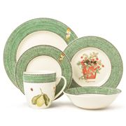 Wedgwood - Sarah's Garden Green Dinner Set 20pce