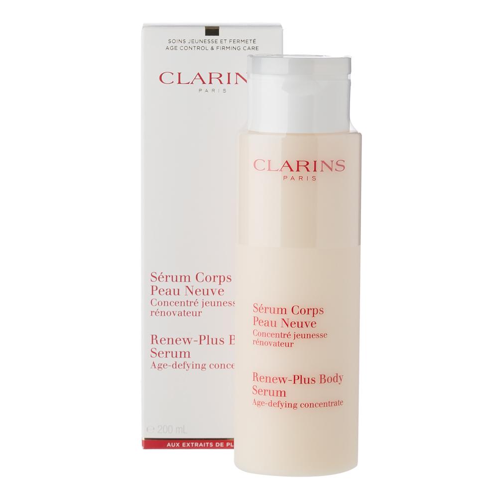 clarins renew plus body serum peter 39 s of kensington. Black Bedroom Furniture Sets. Home Design Ideas