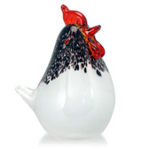 Zibo - Small White Chook Ornament
