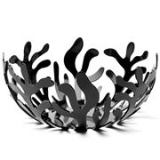 Alessi - Mediterraneo Small Black Fruit Bowl
