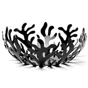 Alessi - Mediterraneo Large Black Fruit Bowl