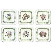 Pimpernel - Botanic Garden Square Coaster Set 6pce