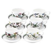 Portmeirion - Botanic Garden Teacup & Saucer Set 6pce